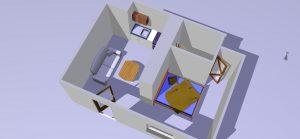 L'Atelier est un gîte pour vacances et déplacements professionnels, lieu dit Bel Air, Nantes, Sucé sur Erdre, Casson, Nort sur Erdre